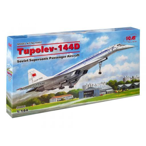 1/144 Tupolev 144D