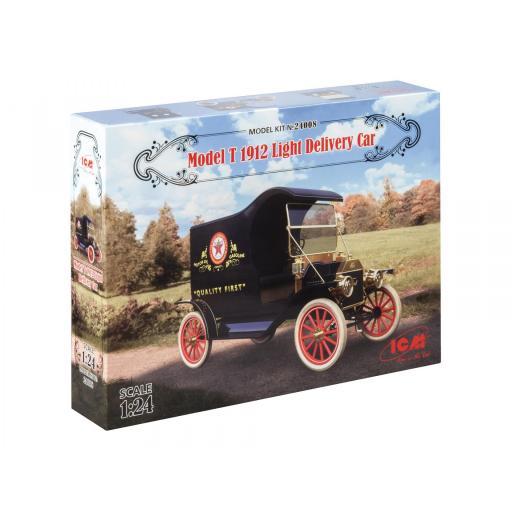 1/24 Gasoline Delivery - Model T Van