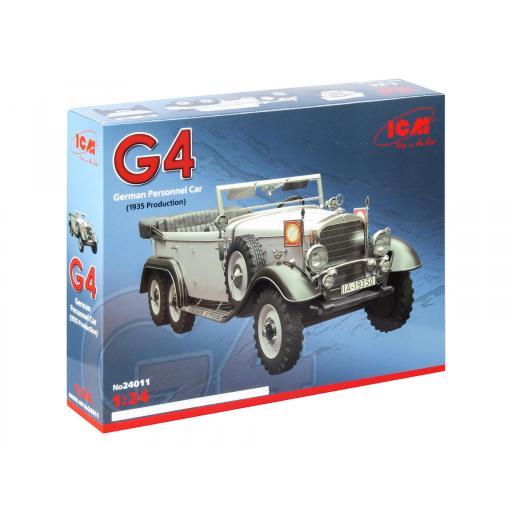 1/24 Mercedes Benz G4 - German Personnel Car 1935