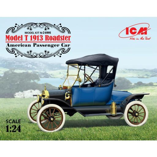 1/24 Model T 1913  Roadster - American Passenger Car
