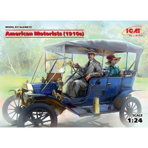 1/24 American Motorists 1910