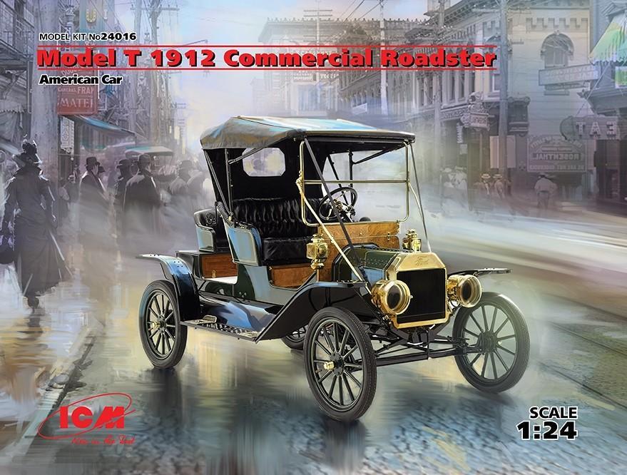 1/24 Model T 1912 Commercial Roadster