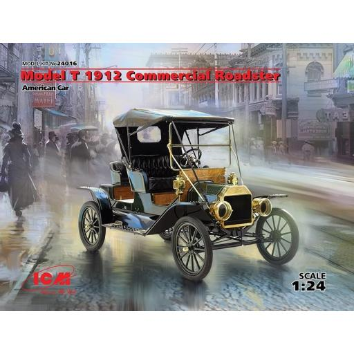 1/24 Model T 1912 Commercial Roadster