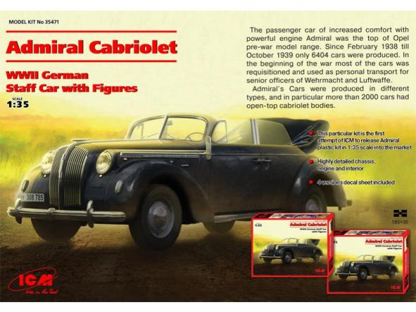 1/35 Opel Admiral Cabriolet