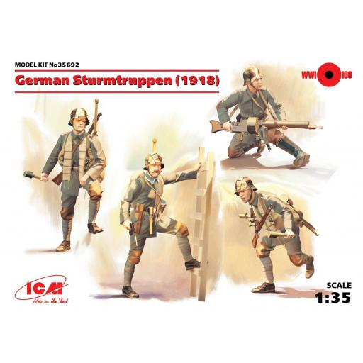 1/35 German Sturmtruppen (1918)