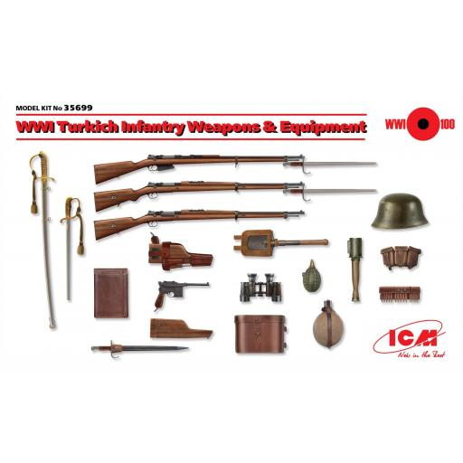 1/35 WWI Turkish Infantry Weapons & Equipment [0]