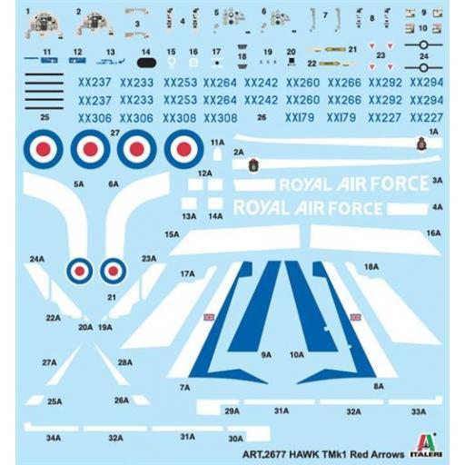 1/48 Hawk T1A Red Arrows [1]