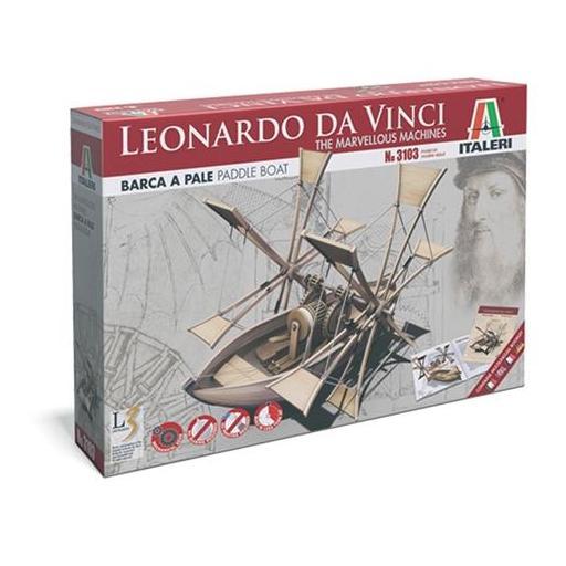 Barca de palas Leonardo Da Vinci