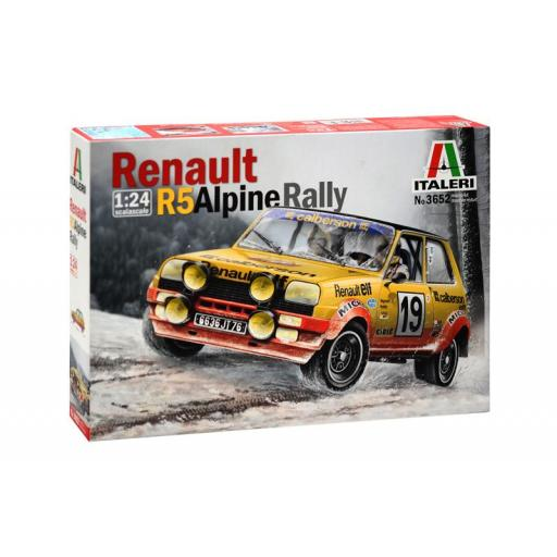 1/24 Renault 5 Alpine Rally