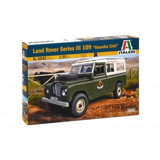 "1/35 Land Rover Series III 109 ""Guardia Civil"""