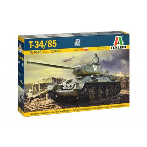 1/35 Tanque pesado sovietico T-34/85