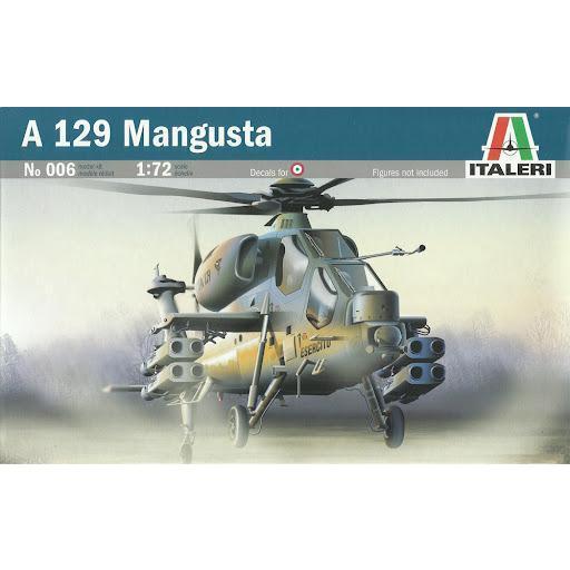 1/72 Helicóptero A-129 Mangusta