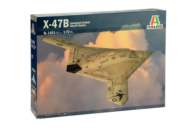 1/72 X-47B UCAS - Avión No Tripulado