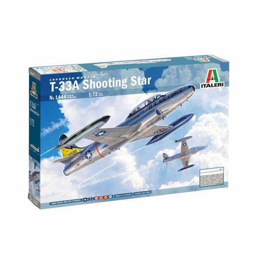 1/72 T-33A Shooting Star - Calcas Españolas