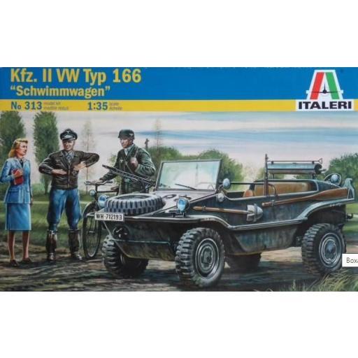 1/35 Kfz.II Type 166 Schwimmwagen