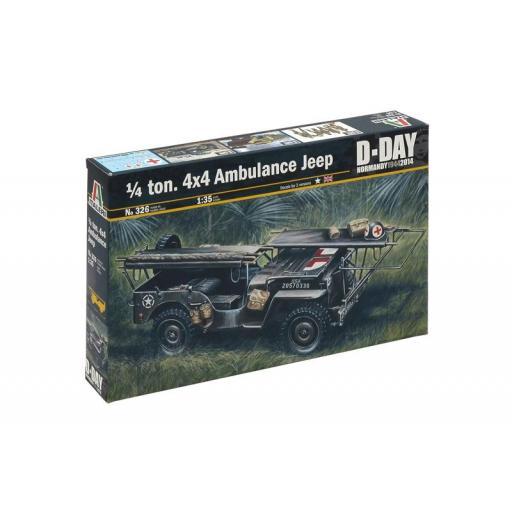 1/35 1/4 ton. 4x4 Ambulance Jeep