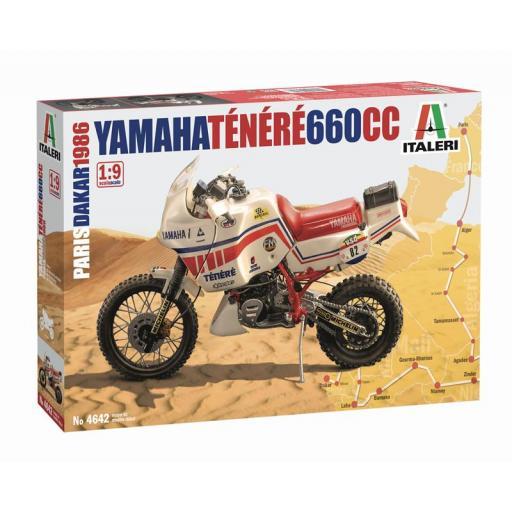 1/9 Yamaha Tenerè 660cc - Paris-Dakar 1986