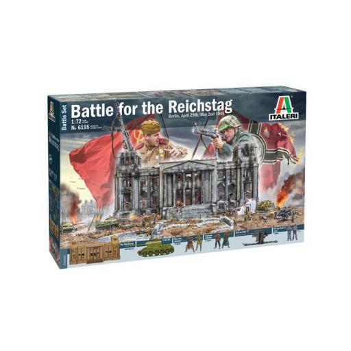 1/72 Battle Set. Berlin 1945. Battle for the Reichstag
