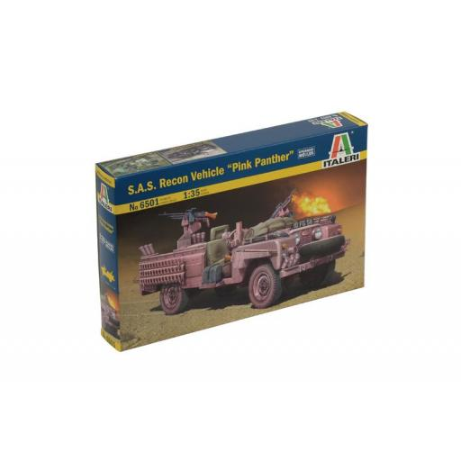 """1/35 S.A.S. Recon Vehicle """"Pink Panther"""""""