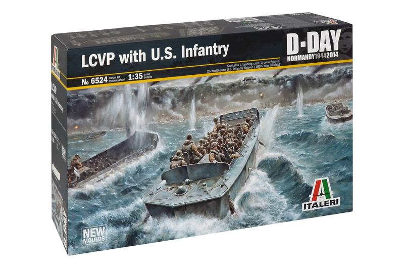 1/35 LCVP with US INFANTRY