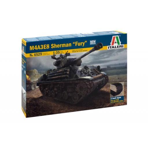 """1/35 M4A3E8 Sherman """"Fury"""""""
