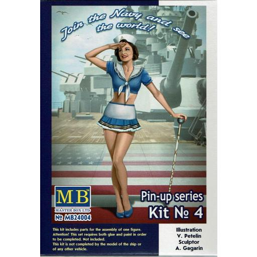 1/24 Suzie U.S. Navy Pin Up series kit nº 4