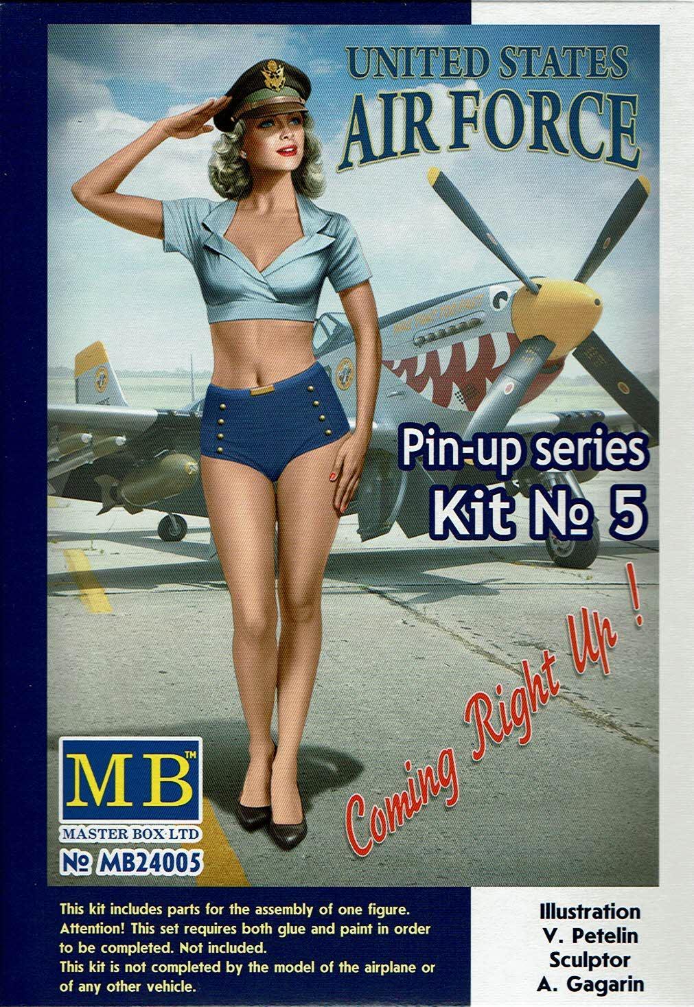 1/24 Patty U.S. Air Force Pin Up series kit nº 5