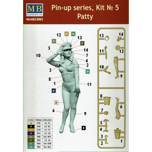 1/24 Patty U.S. Air Force Pin Up series kit nº 5 [1]