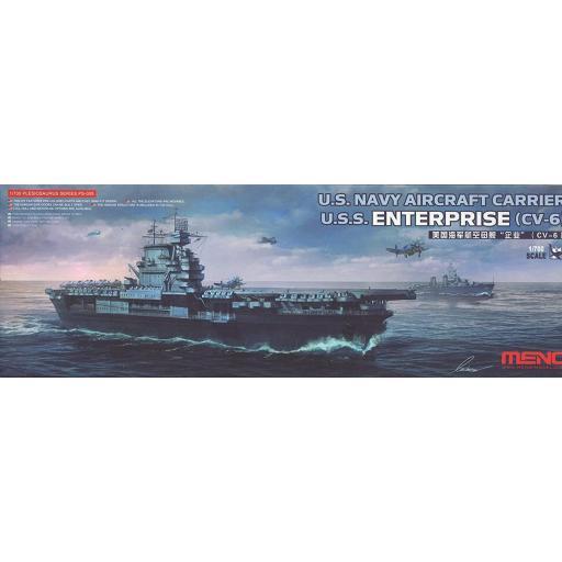1/700 U.S Navy aircraft carrier Enterprise CV-6