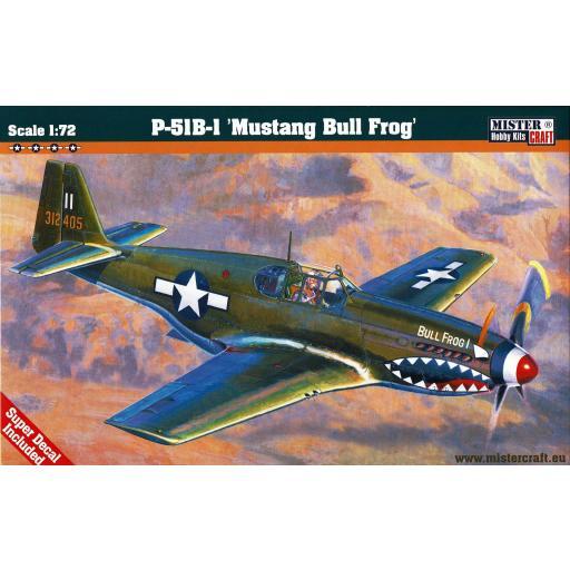 1/72 P-51 B-1 BullFrog I