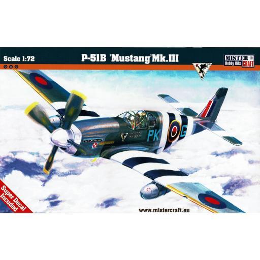 1/72 P-51B Mustang Mk.III