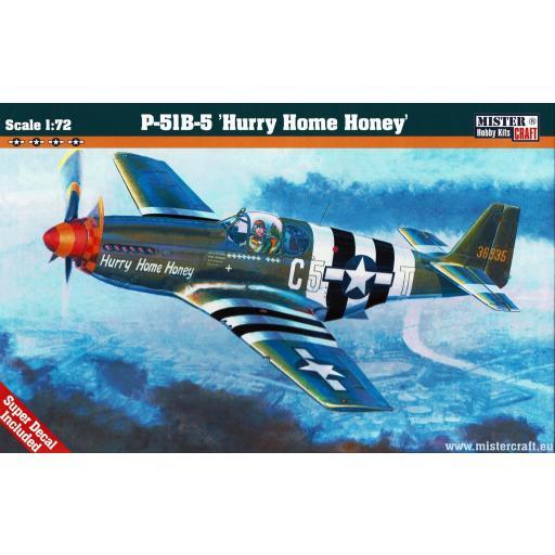 1/72 P-51 B-5 Hurry Home Honey