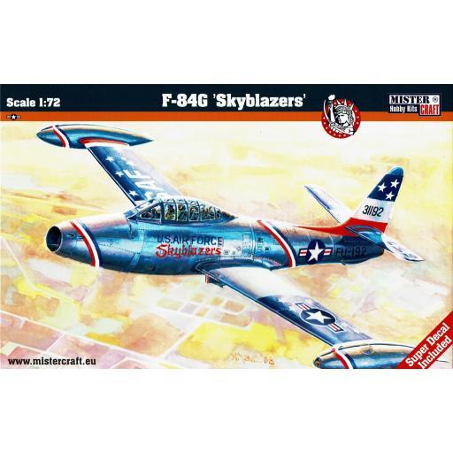 1/72 F-84G Skyblazers