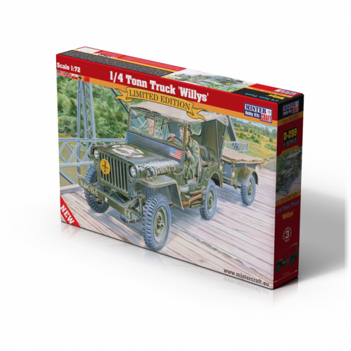 1/35 1 /4 Tonn Truck Willys