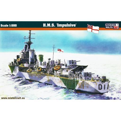1/500 HMS Impulsive