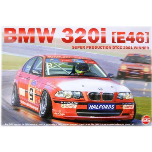 1/24 BMW 320i (E46) DTCC 2001 WINNER
