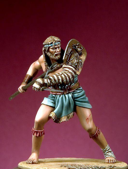 Retiarius Gladiador Romano. 54mm