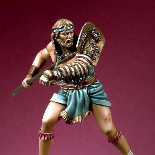 Retiarius Gladiador Romano. 54mm [0]
