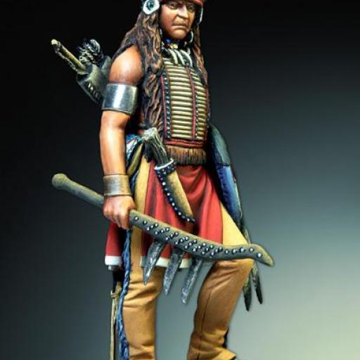 Guerrero Sioux. 54mm