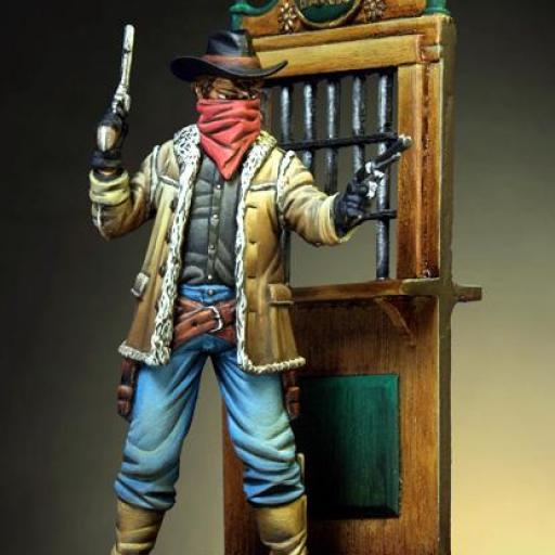 Ladrón de Bancos, Oeste Americano. 54mm