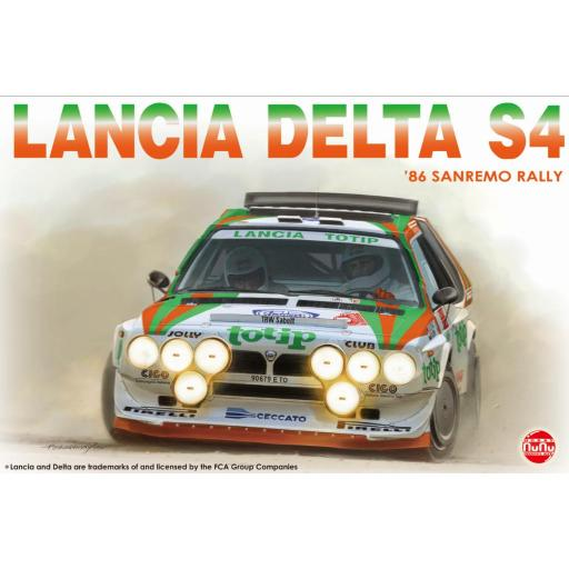 1/24 Lancia Delta S4 1986 Sanremo Rally