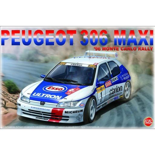 1/24 Peugeot 306 Maxi Monte Carlo 1996