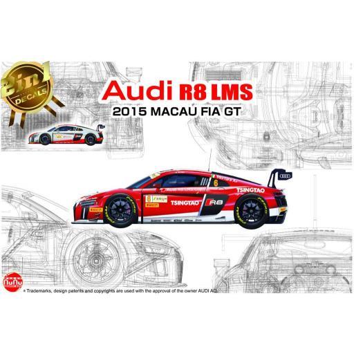 1/24 Audi R8 LMS GT3 - 2015 Macau FIA GT