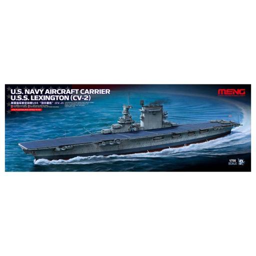 1/700 US Navy Aircraft Carrier USS. Lexington CV 2