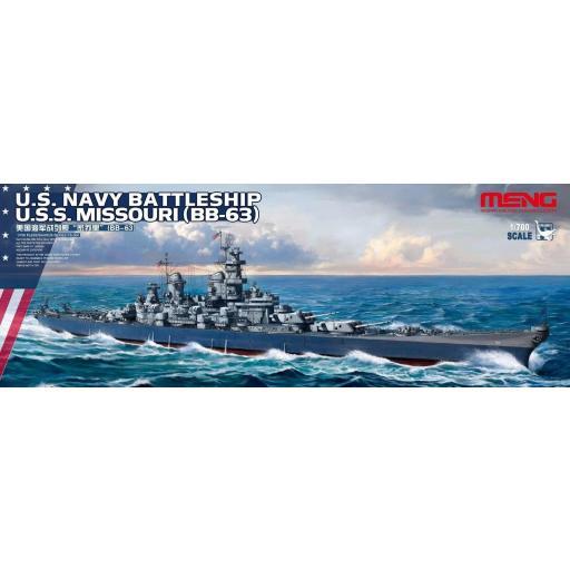 1/700 US Navy Battleship Missouri BB 63