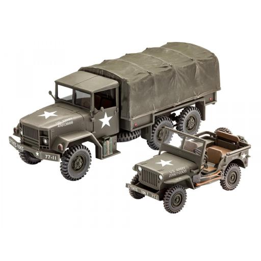 1/35 M34 Tactical Truck & Off Road Vehicle [1]