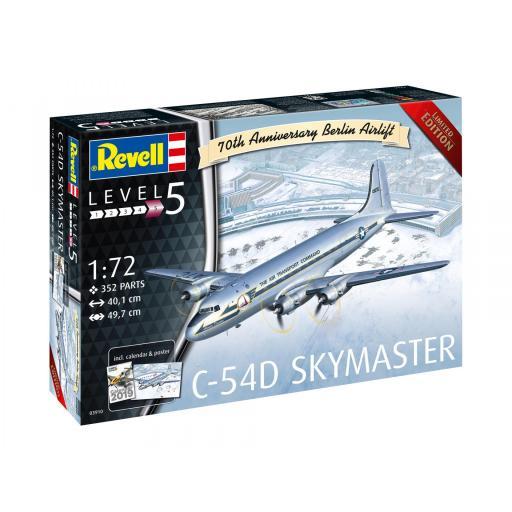 1/72 C-54D Skymaster Berlin Airlift '70Th Anniversary'