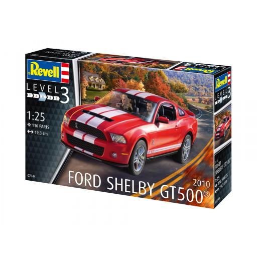1/25 Ford Shelby Gt 500 2010