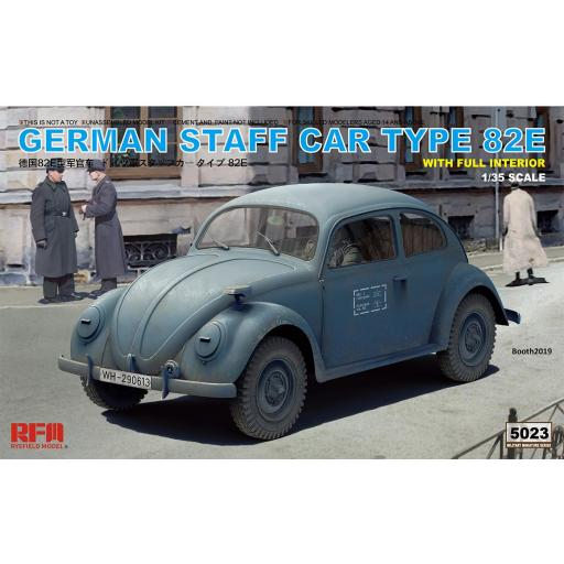 1/35 German Staff Car Type 82E with full interior
