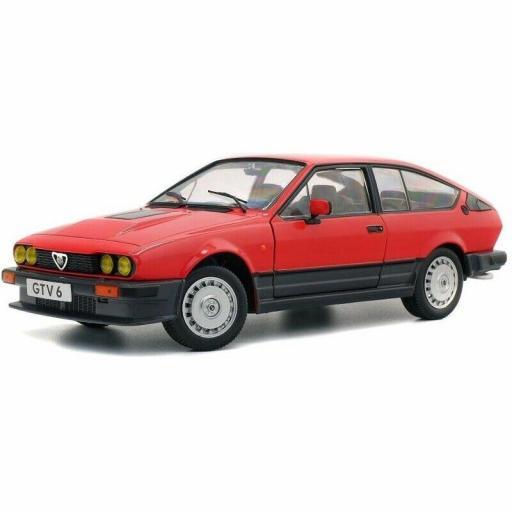 1/18 Alfa Romeo GTV 6 1984 Rojo